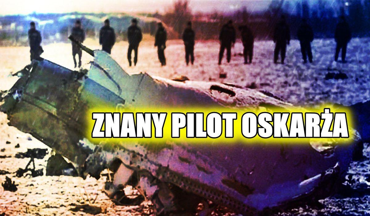 Znany pilot o rosyjskiej katastrofie: ZABILI ICH