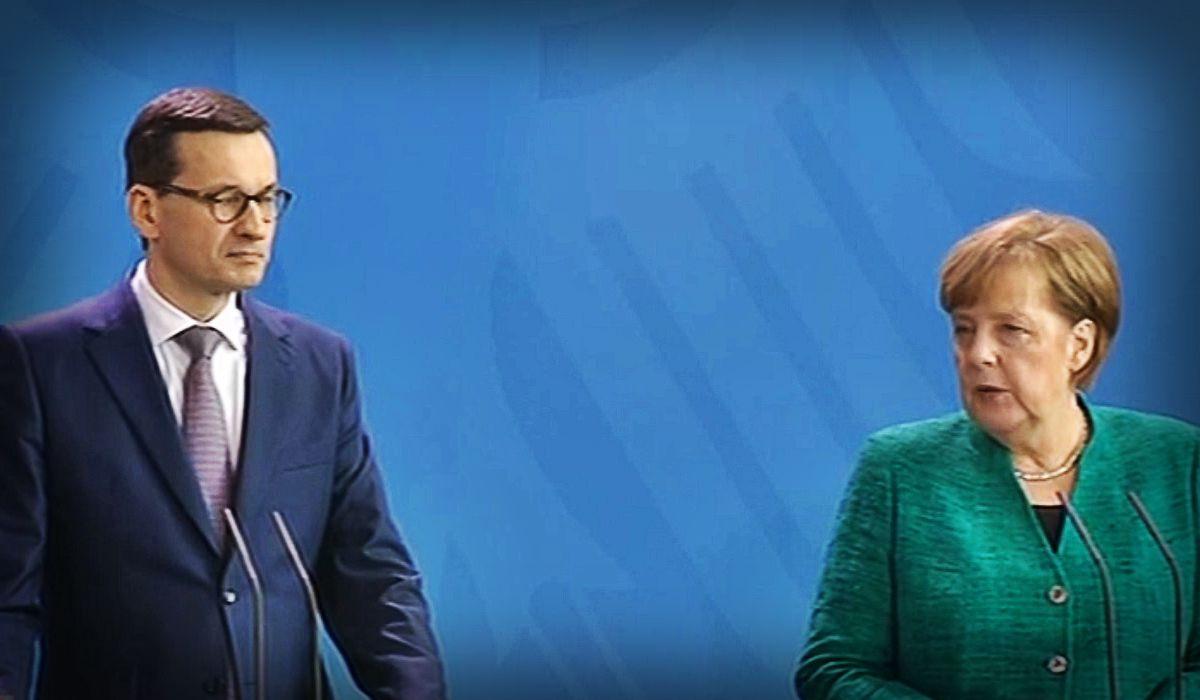 Merkel wbiła szpilę Morawieckiemu na konferencji! Szybka odpowiedź premiera