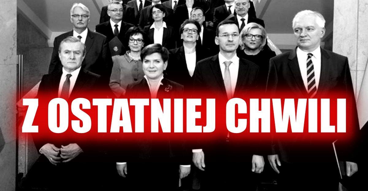 Prokuratura zabiera się za ministra i wiceministra PiS. Mogą wylecieć