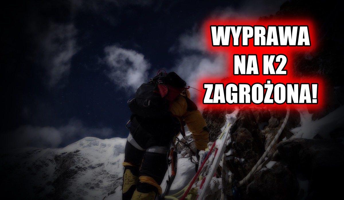 Wyprawa na K2 Bieleckiego zagrożona! Urubko opublikował wstrząsający wpis