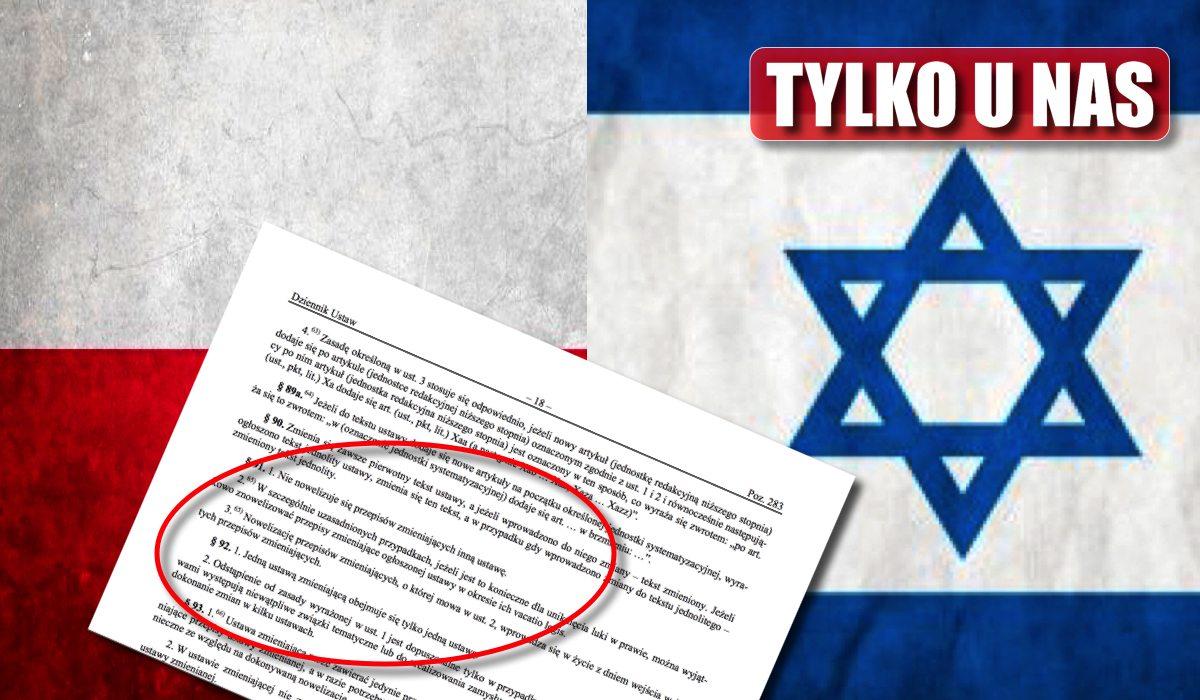 Jakim cudem nikt inny tego nie zauważył? KOSMICZNA kompromitacja MSZ Izraela!