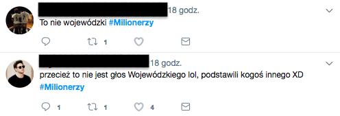 """Wojewódzki w Milionerach. Internauci mają teorię spiskową: """"To NIE on"""""""