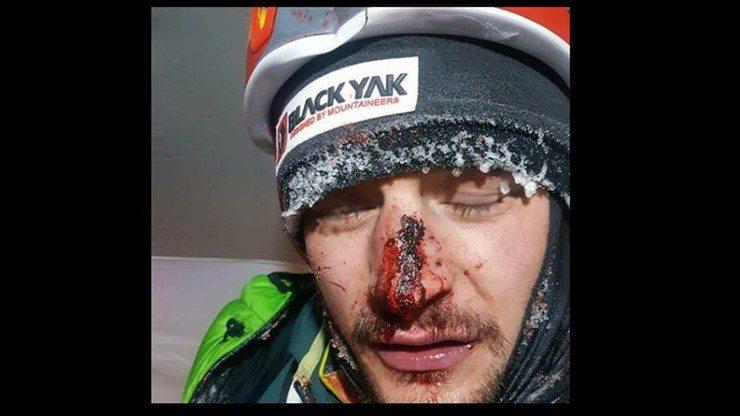 Adam Bielecki wypadek wyprawa K2