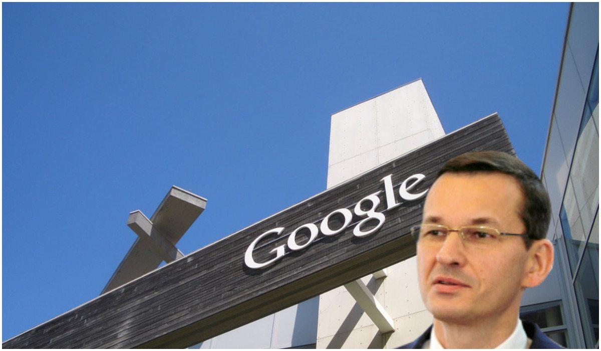 Google przeprasza rząd PiS