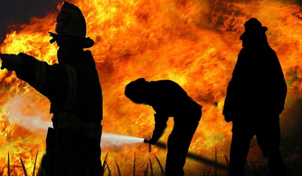Trwa akcja polskich służb! Ogień trawi ogromne hale