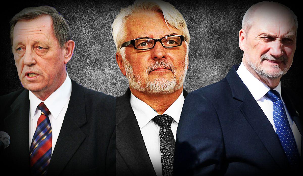 Macierewicz, Waszczykowski i Szyszko mają nowe posady!