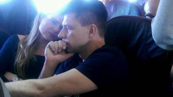 Petru i Schmidt lecący na Maderę