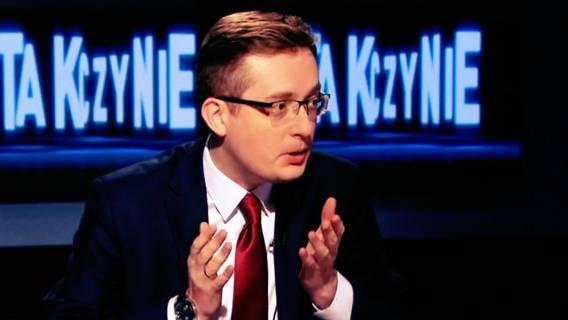 Polsat: Winnicki dostał szału w programie na żywo.