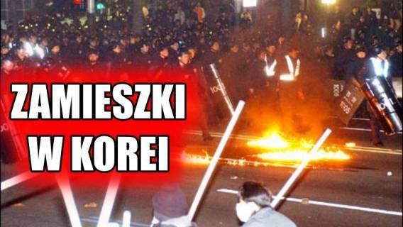 Igrzyska zagrożone! W Korei wybuchły zamieszki, co z Polakami?