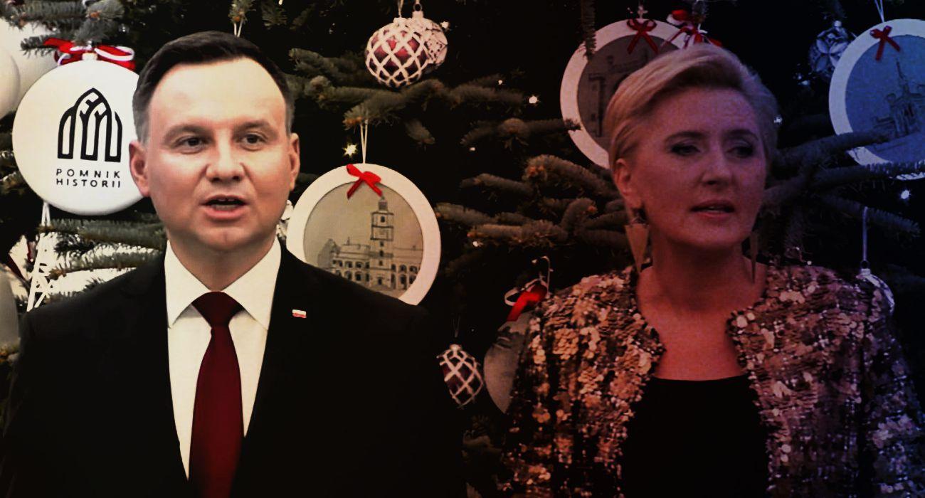 SZOK! Prezydent Duda publicznie poniżył własną żonę