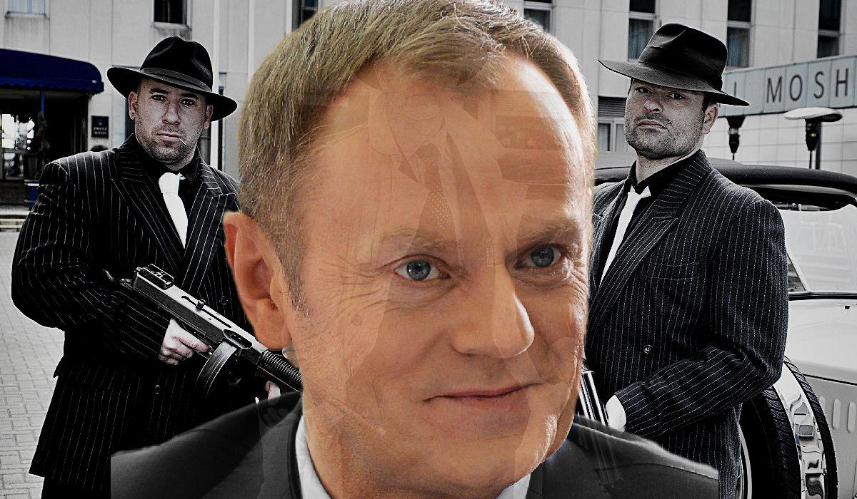 Brytyjskie media: Donald Tusk to szef MAFII