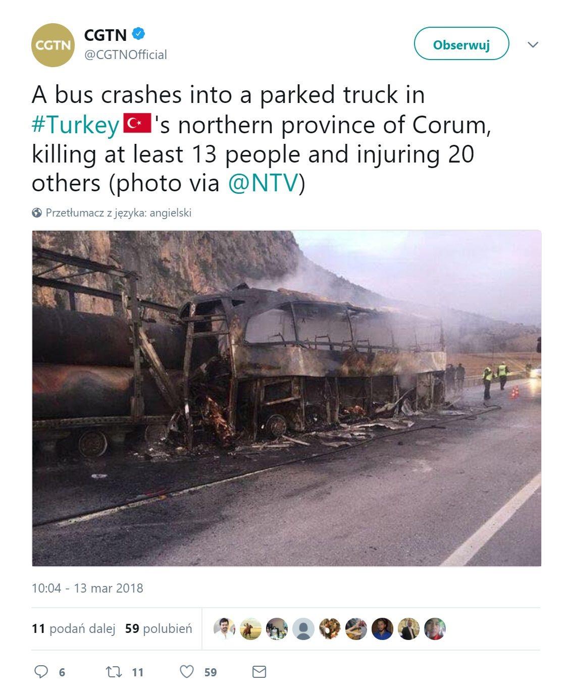 Katastrofa Autokaru