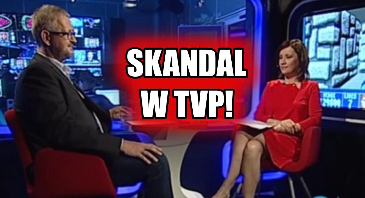"""Studio TVP NA ŻYWO zapełniło się SWASTYKAMI! """"Wyłączcie to!"""""""