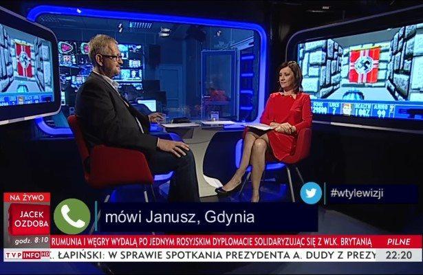 Swastyki w TVP info