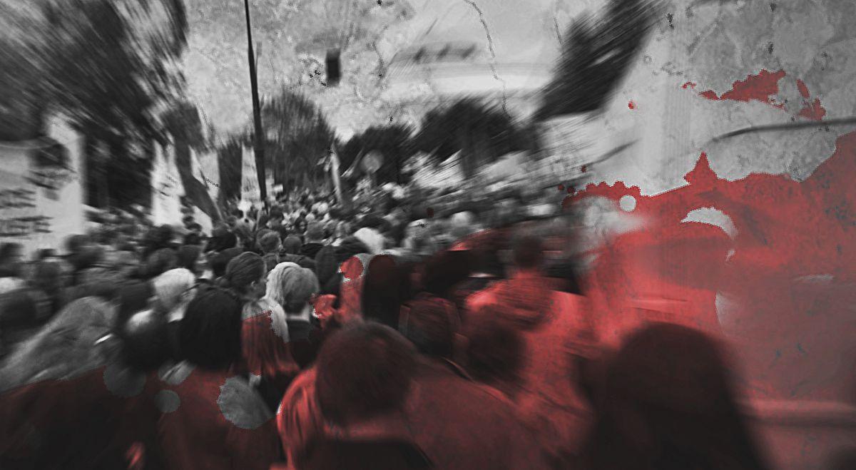 Atak w Warszawie! Roznieśli siedzibę Czarnego Protestu w pył