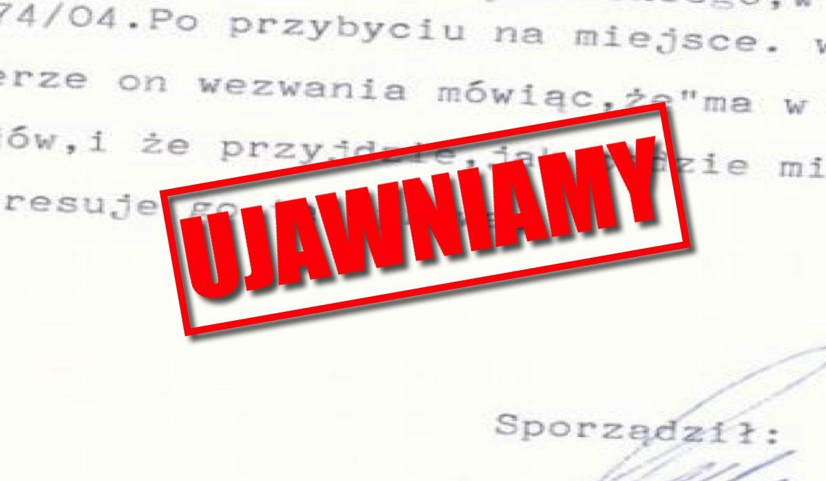 To będzie międzynarodowy skandal! Wyciekła tajna notka PiS