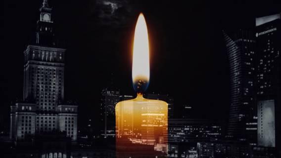 Warszawa zamarła. Nieoczekiwana śmierć wstrząsnęła stolicą