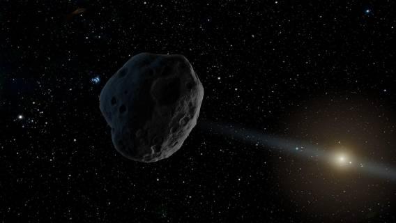 Waży 77 miliardów ton. Uderzy w Ziemię, NASA podała datę