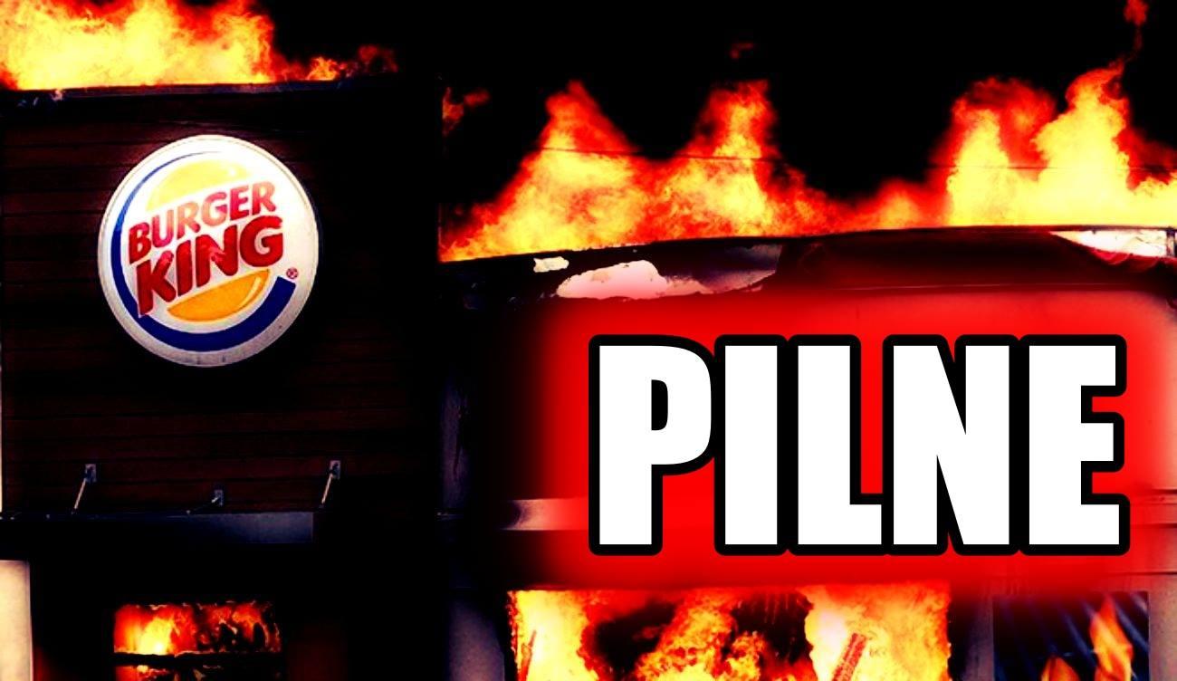 Eksplozja w Burger King! Mnóstwo rannych