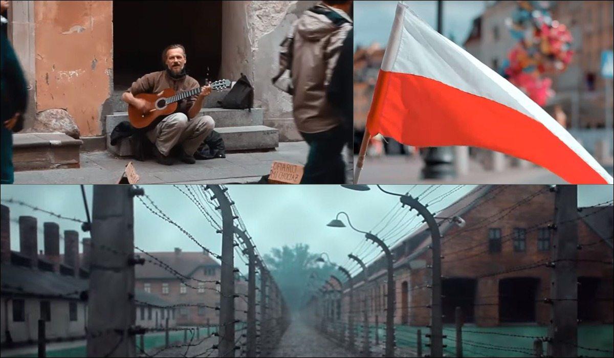 Brazylijczycy nakręcili minutowy, piorunujący film o Polsce. Robi wrażenie na całym świecie