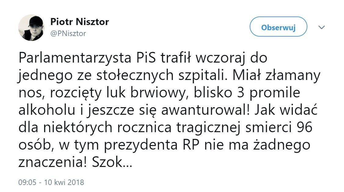Polityk PiS