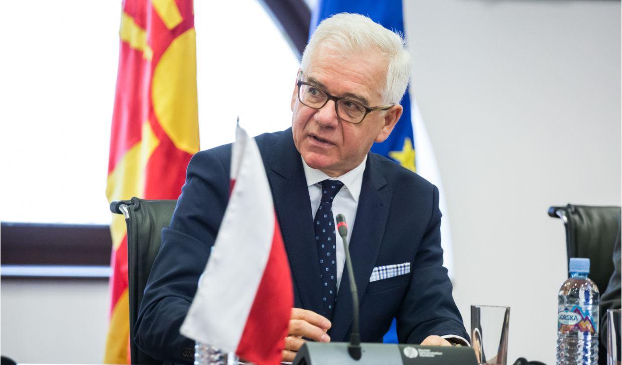 Oficjalne oświadczenie polskiego MSZ ws. wojny