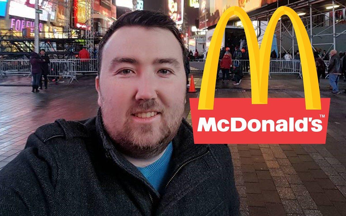 Umarł 9 razy. Kiedy ożył poszedł do McDonalda