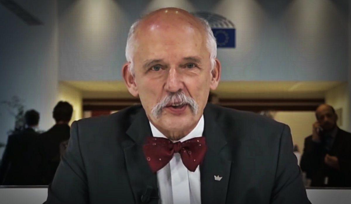 Korwin-Mikke dla Sputnika: To nie Rosja otruła Skripala