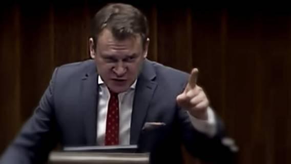 Tarczyński wpadł w FURIĘ. Wulgarny atak na dziennikarza