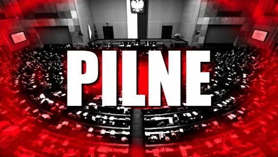 Sejm OKUPOWANY! Dramatyczne sceny w parlamencie