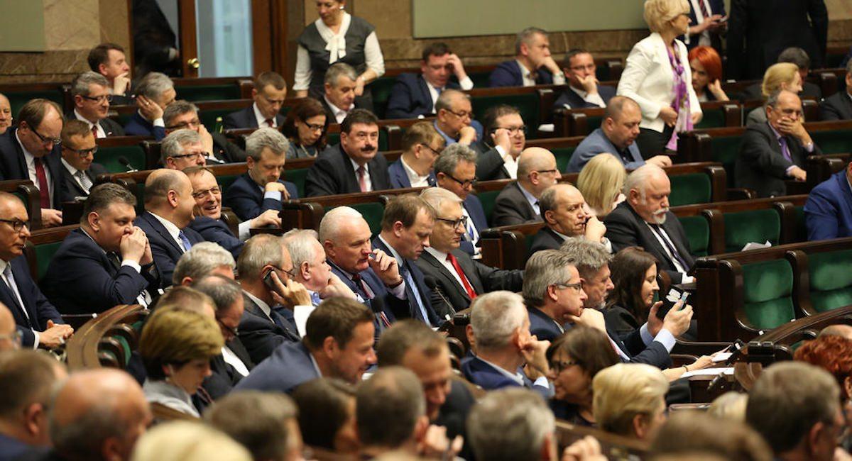 Tosia Kaczyńska gwiazdą Sejmu! Wyjątkowe zdjęcie