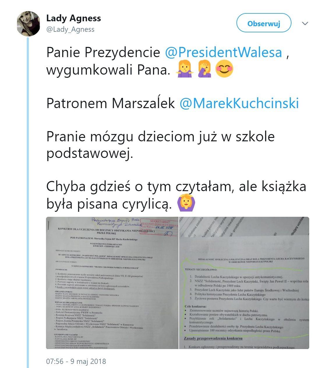 Lech Kaczyński Lech Wałęsa