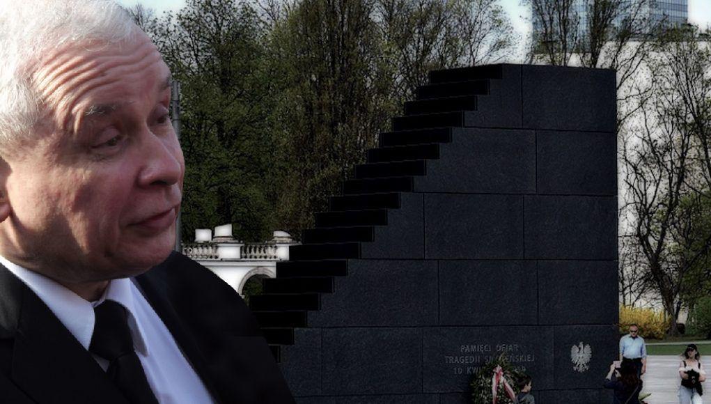 Będą sikać na pomnik smoleński! Kaczyński dostanie zawału