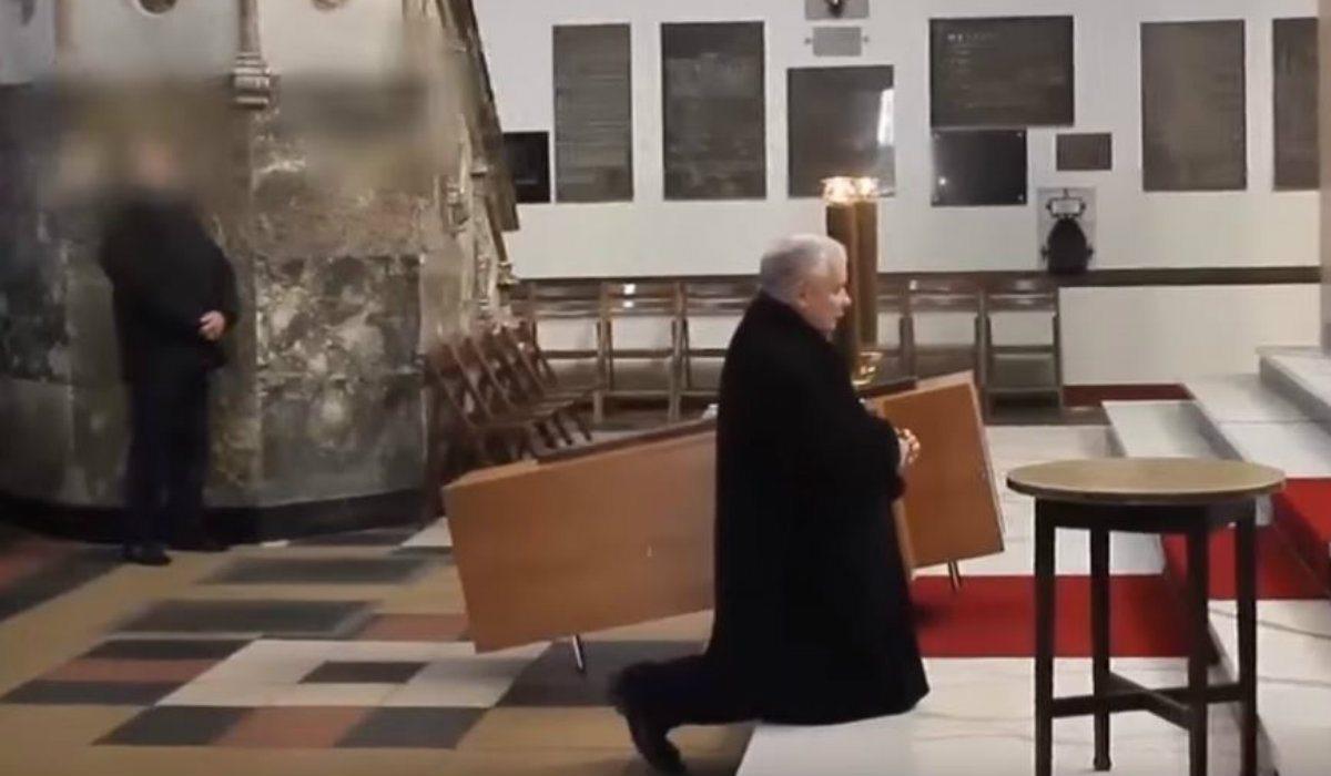 Komunia św. nie dla Kaczyńskiego. Kościół ODWRACA SIĘ od prezesa PiS