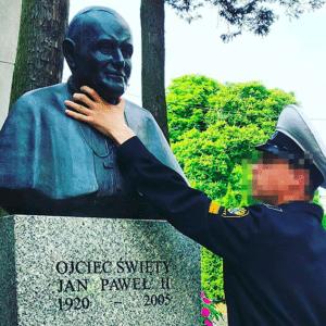 Jan Paweł II popiersie