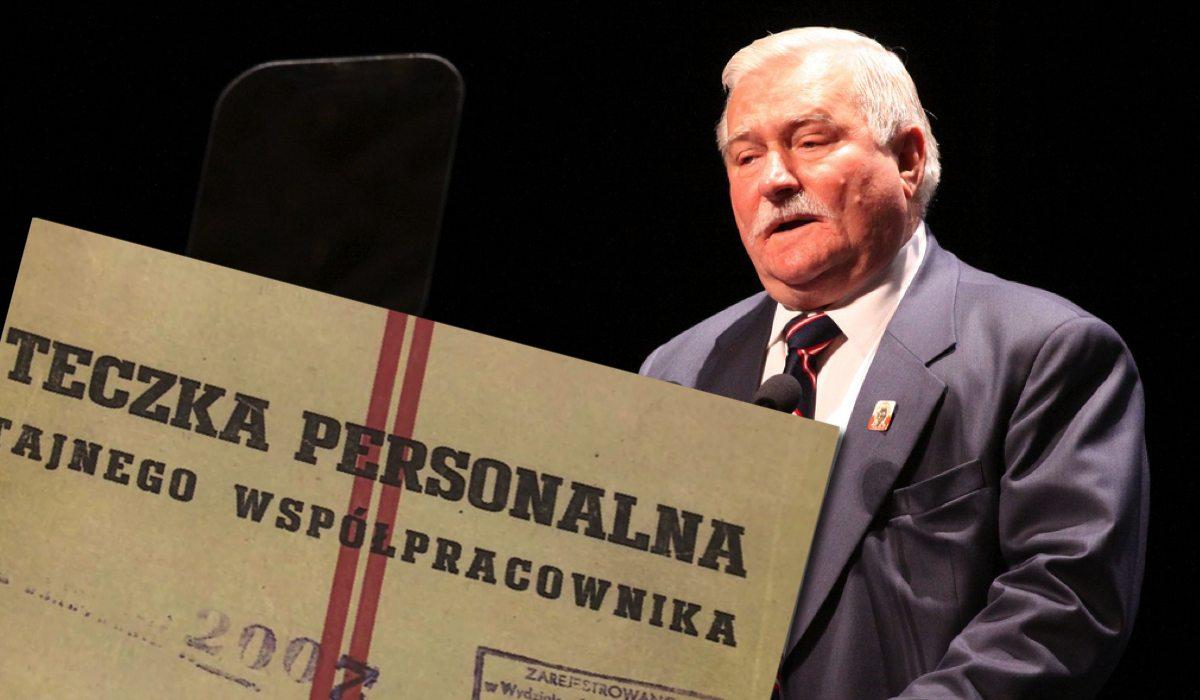 Wałęsa chce, żeby Kaczyński wyzdrowiał. Ujawni prawdę o przeszłości w SB