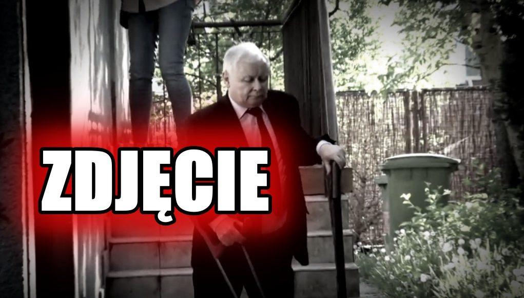 Straszny wygląd Kaczyńskiego. Niknie w oczach, jest źle