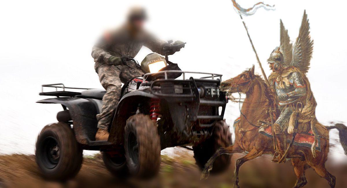 Husaria na quadach. Nowy pomysł dla polskiej armii