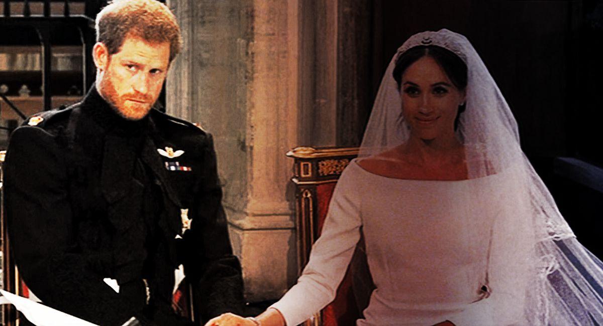 Pierwszy taki przypadek w historii! Harry PUBLICZNIE poniżył Elżbietę II na ślubie