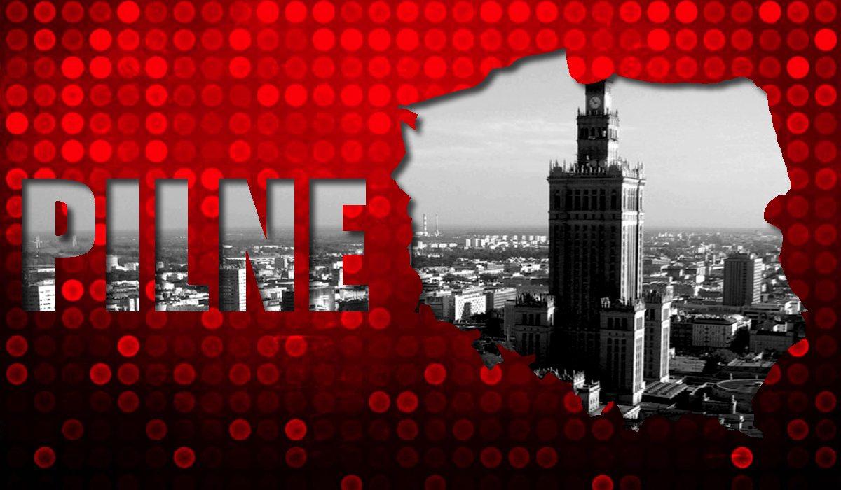 Atak na policję Warszawie! Obcokrajowiec użył rozpędzonego samochodu