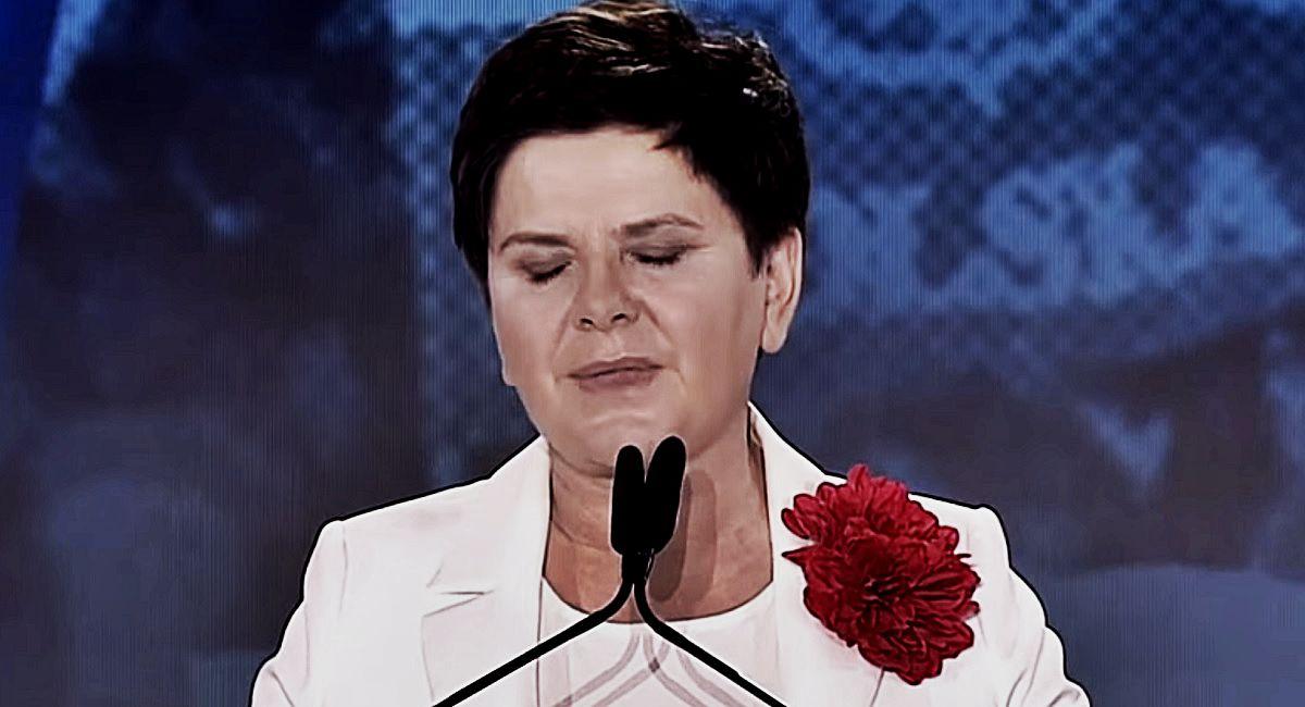 Beata Szydło ostatecznie pogrążona! Była premier płonie ze wstydu