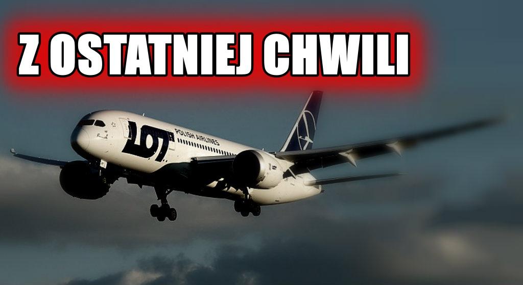 Awaria samolotu! 80 Polaków odciętych od świata