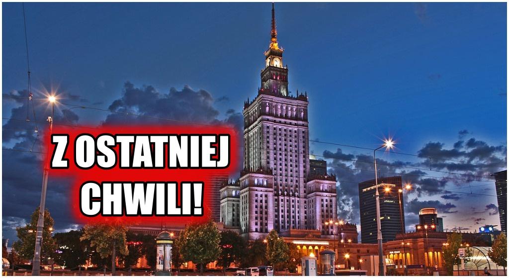 Cała Warszawa stanęła na nogi. Służby rozpoczęły poszukiwania