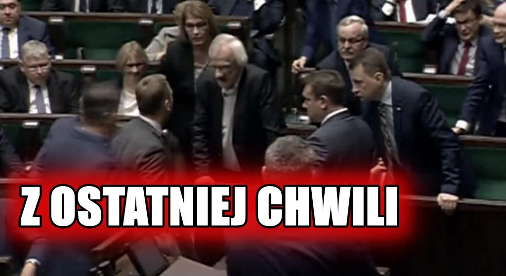 """W parlamencie rozpętało się piekło! """"Uderzenie W PYSK od Kaczyńskiego"""""""