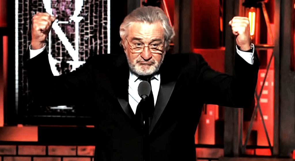 Skandal roku! Robert De Niro do prezydenta: PIE*DOL SIĘ (VIDEO)