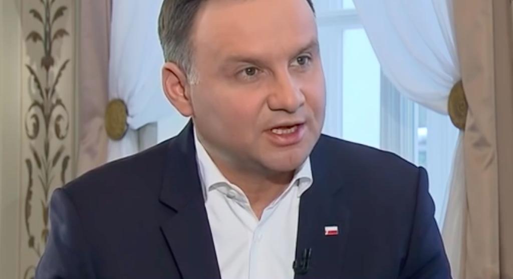 Bohater poniżył Andrzeja Dudę! Prezydentowi odebrało mowę