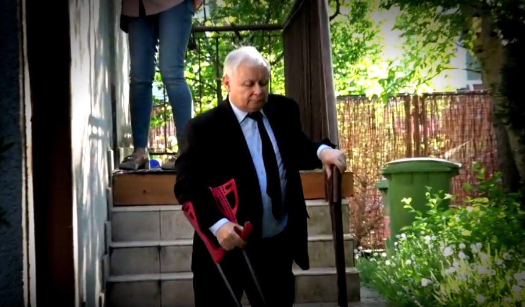 Kaczyński przemówił do Polaków. Pierwsze słowa po opuszczeniu szpitala