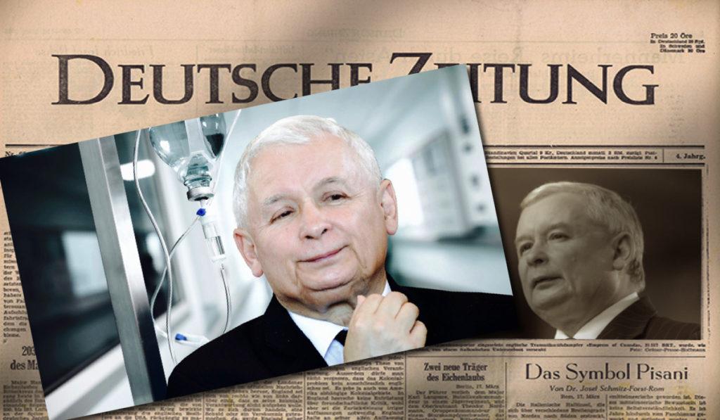 """Niemcy właśnie ujawnili, cała Europa w szoku! """"Kaczyński ma raka"""""""