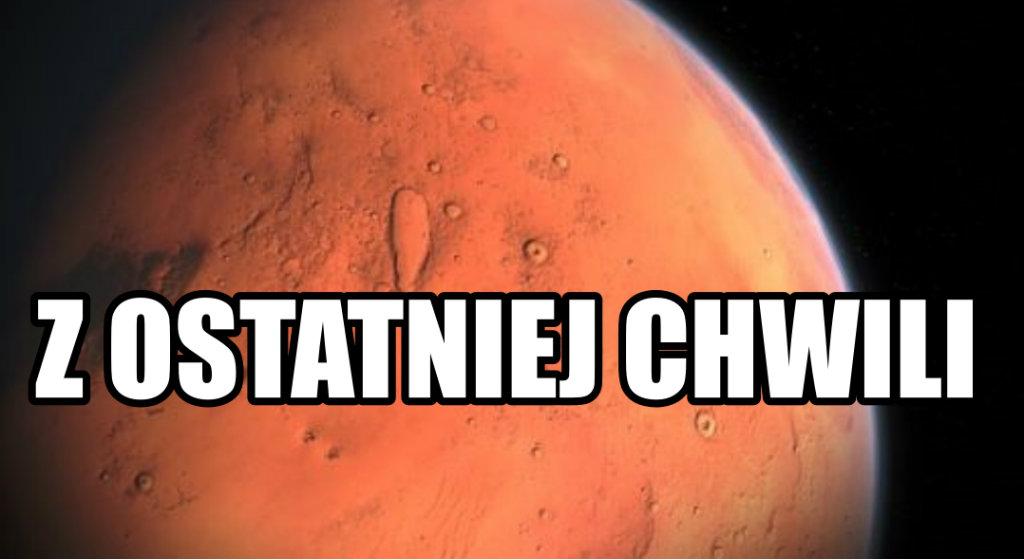 PRZEŁOMOWE ODKRYCIE NA MARSIE! Łazik Curiosity odnalazł właśnie materię organiczną