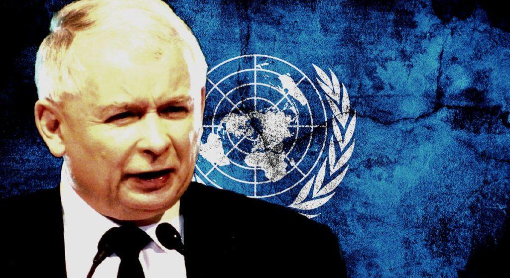ONZ właśnie zmiażdżyło Polskę, Kaczyńskiego zamurowało